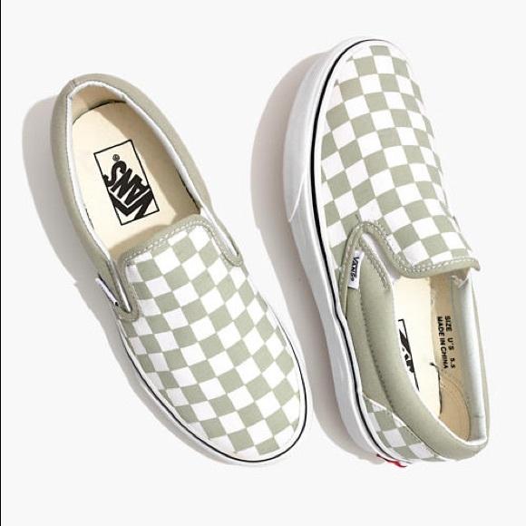 Vans Slipon Sneakers Desert Sage
